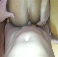 Metendo a toba grande no cu lisinho do gay